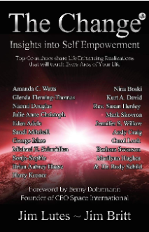 The Change 3: Insights into Self-empowerment, By Jim Britt and Jim Lutes, Chapter on 'The Science of Moral Law': Out-of-Body Travel and Astrophysics in Unison, By Marilynn Hughes and Dr. Rudy Schild, Professor Emeritus Astrophysics Harvard University (A Spiritual Transformation Book)